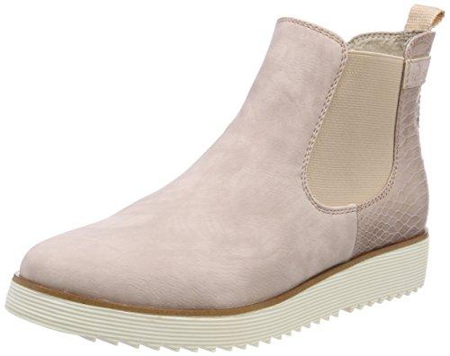 s.Oliver Damen 25410 Chelsea Boots, Pink (Rose Comb), 39 EU