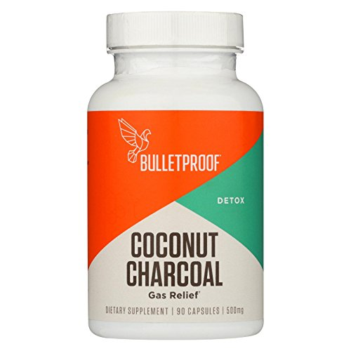 Bulletproof – Upgraded Coconut Charcoal Capsules – 90 ct.