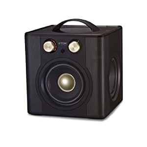 TDK V513 Wireless Sound Cube Speaker with Remote - Black (discontinued by manufacturer)