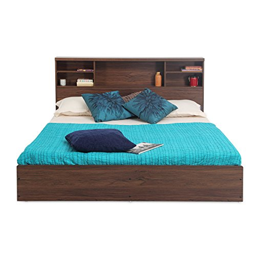 Forzza Westin King Size Bed (Walnut)