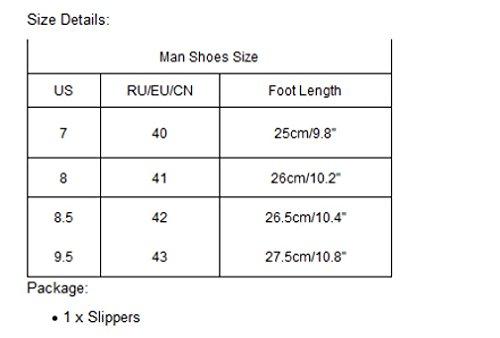 Ouneed® Flip Flops Herren Erwachsene Zehentrenner , Flip Flops Hausschuhe Strand Sandalen Sommer Indoor & Outdoor Hausschuhe Schuhe Rot