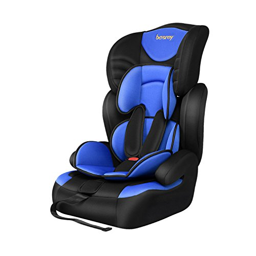 Besrey 3 in 1 Baby Safety Car Seat Kid Booster Group 1 2 3 ...