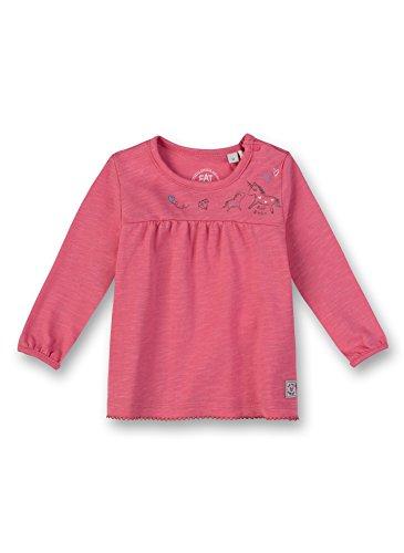 Sanetta Sanetta Baby-Mädchen Langarmshirt Shirt, Rosa (Lotus Rose 3224.0), 62