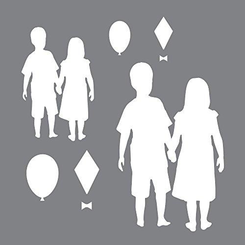 Deco Art Kunststoff Andy Skinner Mixed Media-Set, Schablone und Maske 6x 6-inch-Children