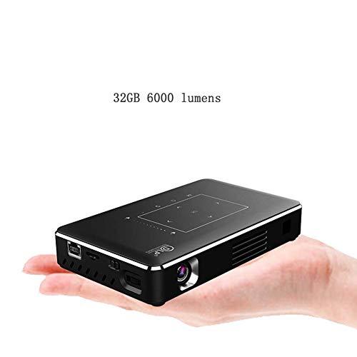 Mankvis Projektor Hause kleine Mini WiFi Micro 4000 Lumen drahtlose 3D heimkino cast Wand tragbare HD 4 Karat Laser 1080p smart kein Bildschirm TV - 1080p Laser-projektor