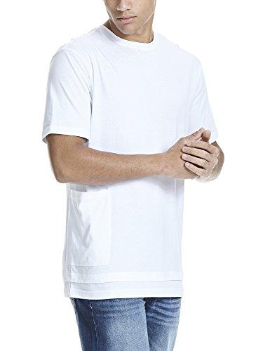 Bench Herren T-Shirt Modern Tee Weiß (White WH001)