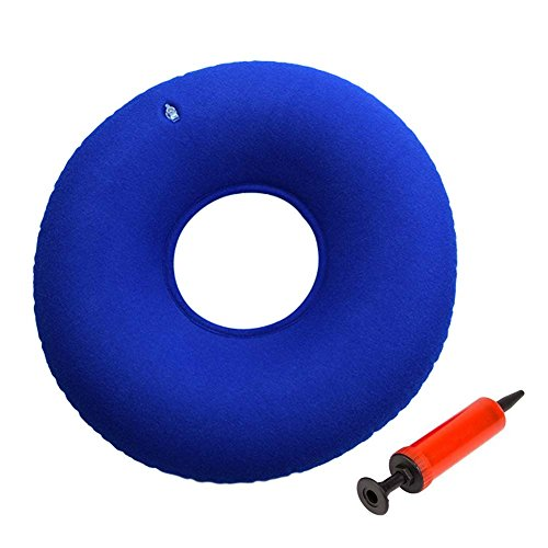 Meiwo Donut Seat Cushion Orthopedic Ring Pillow for Hemorrhoid Pain, Sciatic Nerve, Bed Sores, Pregnancy Tailbone Pain