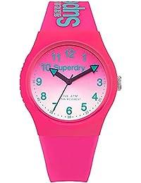 Superdry Analog Pink Dial Women's Watch-SYL198PN