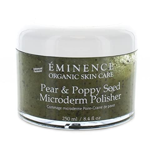 Eminence Pear and Poppy Seed Microderm Polisher, 8.4 Ounce by Eminence Organic Skin Care