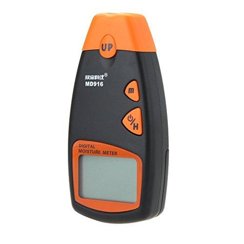 Junjiagao tragbares digitales Feuchtigkeitsmessgerät MD916 2% -40% für Schreibpapier, beschichtetes Papier, Periodisch, Karton