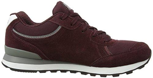 Skechers OG 82Flynn, Sneakers Basses femme Rouge - Rouge Bordeaux