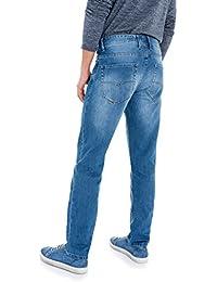Salsa - Jeans Lima tapered légers délavage moyen clair - Homme