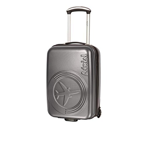 Preisvergleich Produktbild Horizon Koffer Kabine Hartschale polyéthylene 2Rollen 50cm Aerial Technik grau