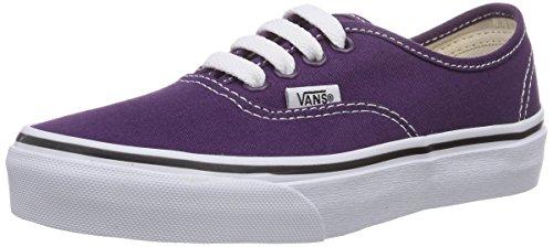 Vans Authentic, Baskets Mode Mixte Enfant - Violet (Plum Purple/tru Fse), 27 EU