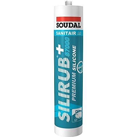 Soudal SILIRUB+ S7000 Fugendichtstoff Farbe Mittel-Grau 75120930 310 ml