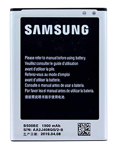 Samsung EB-B500BE - Batería para móvil para Samsung Galaxy S4 mini i9195 (lithium ion, Li-Ion 3.8V)