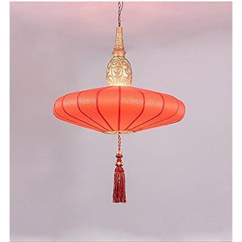 Ristorante cinese moderno lampadario tessuto cerchio di studio,B-@wei