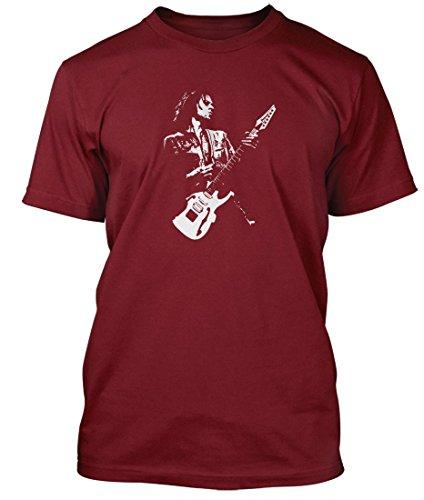 Paul Gilbert guitar hero T-shirt, Herren, XX Large, Kremlin Red (Martin T-shirt Guitar)