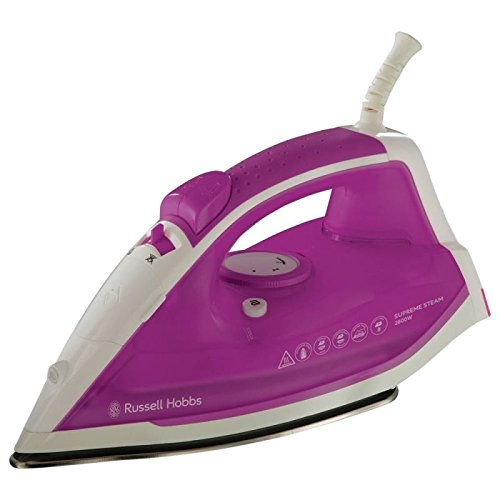Russell Hobbs 22491 Supreme Steam Traditional Iron 2400W - Blanco/Rosa