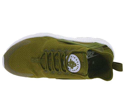 Nike W Air Huarache Run Ultra, Scarpe da Corsa Donna Verde (Verde (olive flak/white))