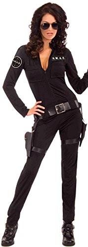 Sexy Swat Woman Of Action Adult Costume ()