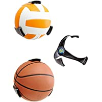 ZIME Space Saver basket-ball Soccer Ball Claw Sports Support mural pour boule Basketball Bracket