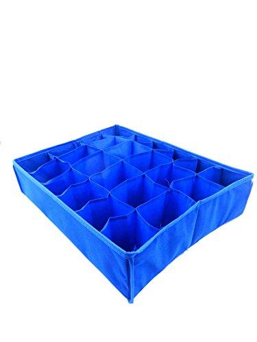 PORTE-boîte de rangement pour bijoux schubladenorganizer bleu