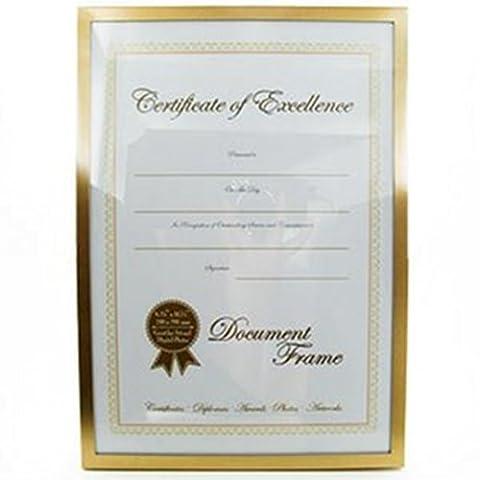 A4 Document Award Certificate Photo Frame 8.25