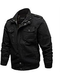 BBSMYA Vêtement Blouson pour Homme parka veste jacket manche longue  printemps Outwear casual sport confortable 07509ab04b1b