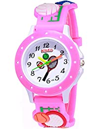 Kidzo Analogue Girls' Watch (White Dial)