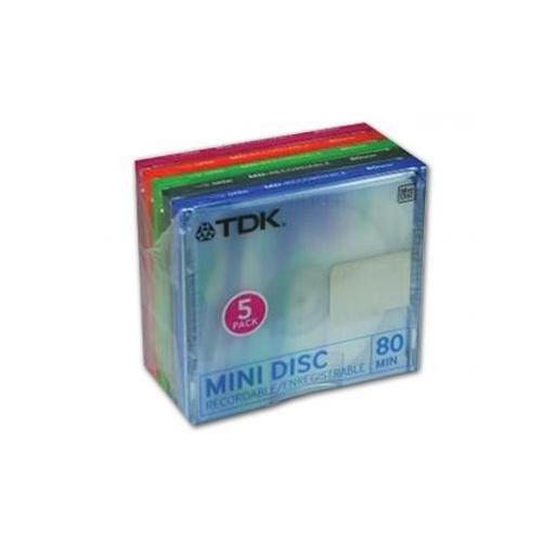 TDK MD-C 80 MiniDisc 5er Pack