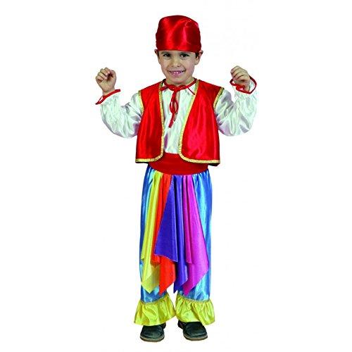 Imagen de disfraz de zingaro azul para niños de 10 12 años