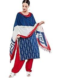 Max Women's Cotton straight Salwar Suit Set
