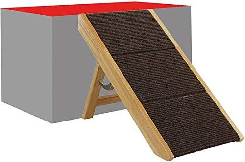 Scaletta In Legno Pieghevole : Maxx scaletta pieghevole per cani in legno cm