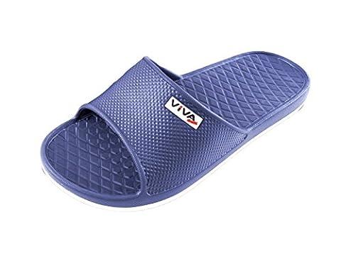 Sandales de bain homme| Chaussures de piscine et plage pour homme| Couleurs: Bleu - Pointure: 40 de Brandsseller