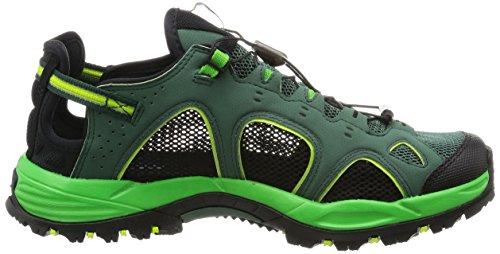 Salomon Techamphibian 3, Scarpe da Escursionismo Uomo Green