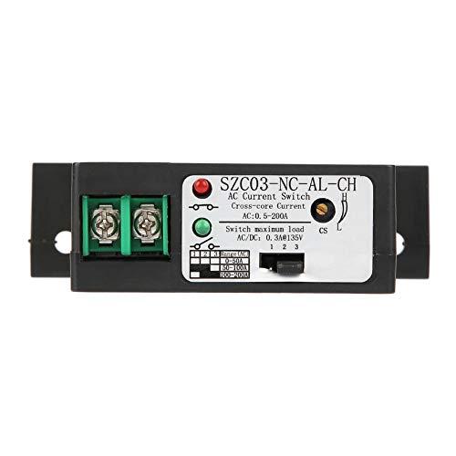 Strommessschalter, AC 0,5-200A, normalerweise geschlossen Strommessschalter einstellbar SZC03-NC-AL Current Sensing Switch