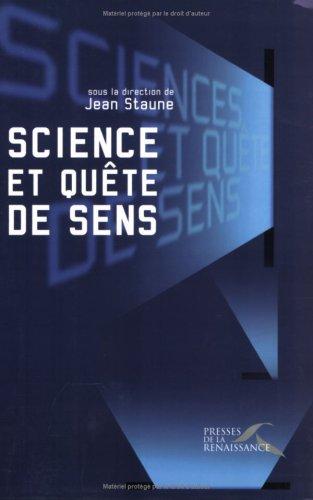 SCIENCE ET QUETE DE SENS