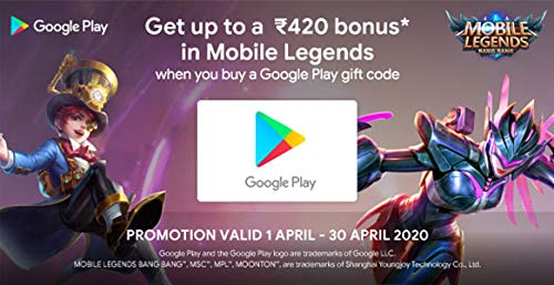 Google Play Gift Code - Digital Voucher India