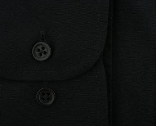 Ex-Store -  Camicia classiche  - Classico  - Lunga-regolare - Uomo Nero
