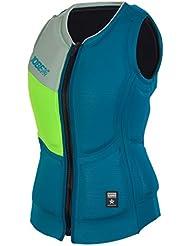 Jobe Mujer Women Teal Comp Vest, todo el año, mujer, color azul, tamaño extra-large