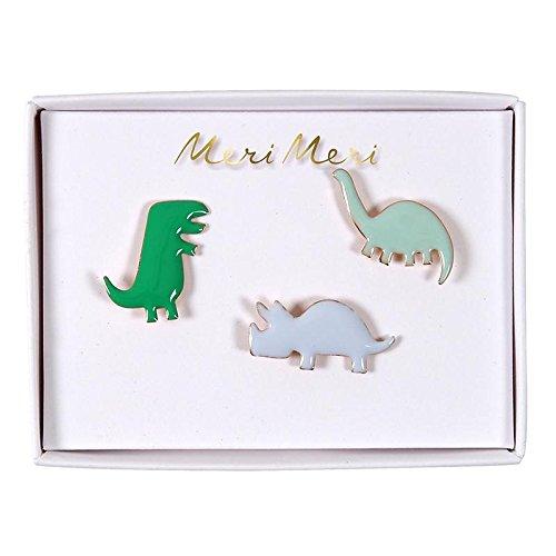 Emaille Anstecker Dinosaurier