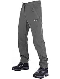 Berghaus Herren Patera Walking Wandern Softshell Schoeller® -dryskin Hose (grau) & Little Hotties Handwärmer (ein Paar)
