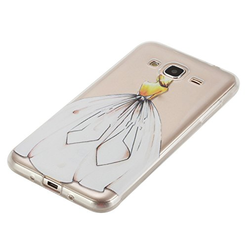 Cuitan Transparent TPU Weiche Hülle Schutzhülle für Apple iPhone 7 (4,7 Zoll), Modisch Muster Design Durchsichtig Rück Abdeckung Back Cover Case Handytasche Rückseite Tasche Handyhülle für iPhone 7 (4 Rücken