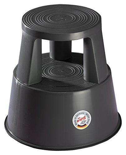Wedo 212212 - Taburete con ruedas, gris