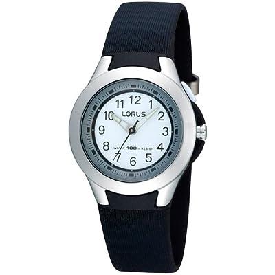 Seiko Classic - Reloj de cuarzo para mujer, correa de cuero color negro