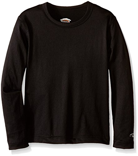 Duofold by Champion Varitherm Mid-Weight 2-Layer Kids' Thermal Shirt XL Black Mid-layer Thermal