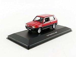 Solido-Fiat Panda-1990Coche en Miniatura de colección, 4303100, Rojo
