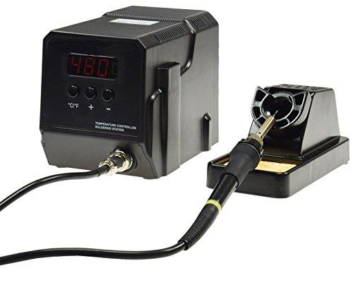 "Preisvergleich Produktbild Digitale Lötstation ""CT-LS Digi PRO"" 60W, 230V, 50-480°, LED-Anzeige, Temperatur regelbar, Zubehör"