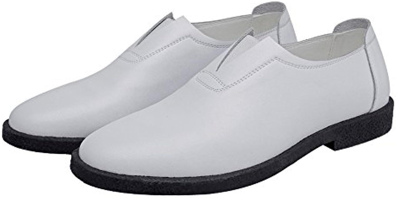 homme / cuir femme de véritables hommes qianhaoqju confortables souliers en cuir / mat mocassin s glisse sur un orteil revêtus les oxfords bustier...prix fou, birmingham nb20203 garantis bon prix, qualité et quantité 232aa1
